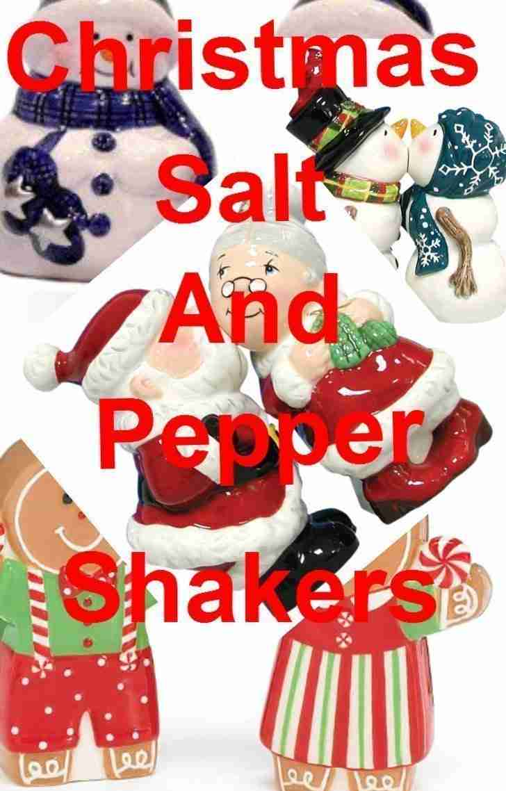 Christmas Salt And Pepper Shaker Sets