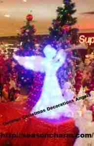 Outdoor Christmas Decorations Angels