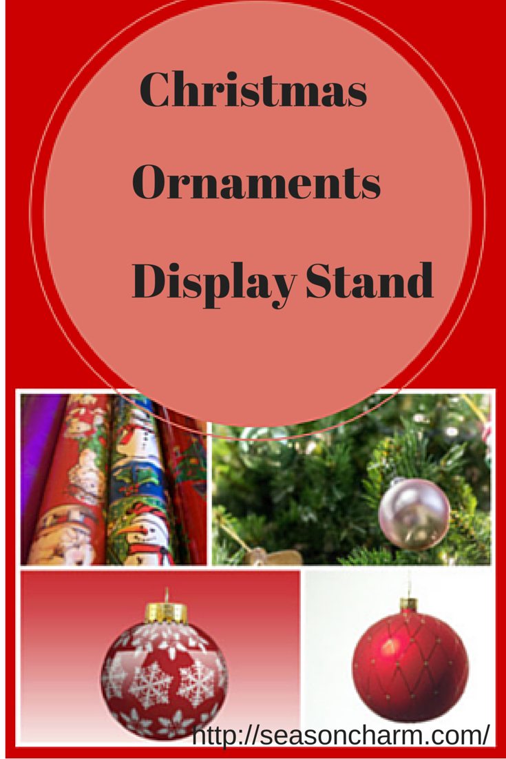 Christmas Ornament Display Stand Ornament display stand by Jesse