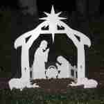 Christmas Outdoor Nativity Set Manger Scene