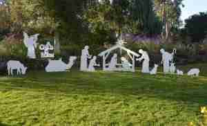 Complete Life Size Outdoor Nativity Set
