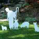 Life Size Shepherd for Outdoor Nativity Set