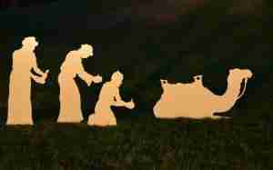 Life Size Wisemen for Outdoor Nativity Scene