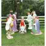 Life Size Creche Nativity Set