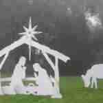 Life Size Nativity Set Outdoor