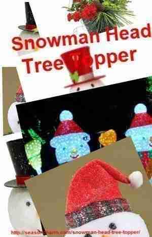 Snowman Christmas Tree Topper Cracker Barrel