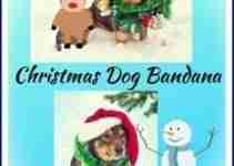 Christmas Bandana For Dogs