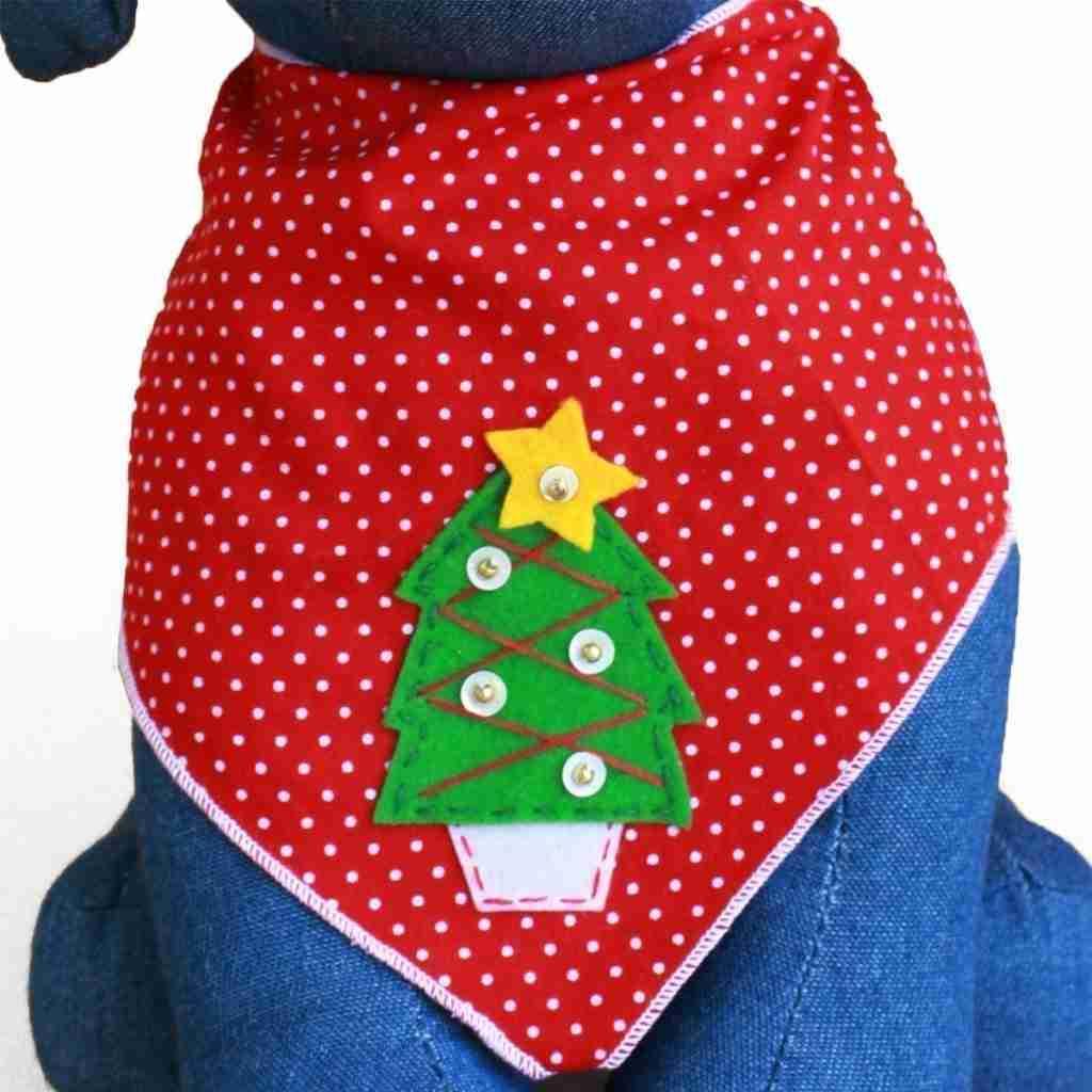 Fun Christmas Bandanas For Dogs Holiday D 233 Cor Season Charm