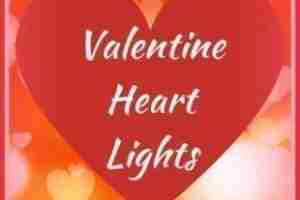 Valentine Heart Light Decorations