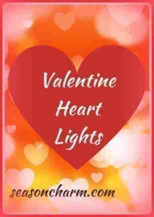 Valentine Heart Light Decorations