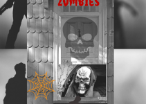 Spooky Zombie Halloween Door Covers