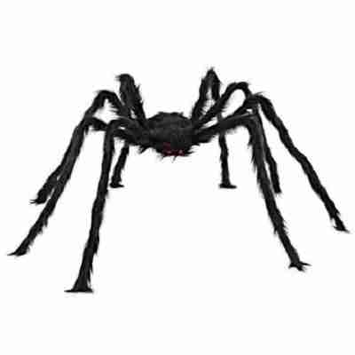 5 ft Hairy Giant Spider Decorations Huge Halloween Outdoor Decor