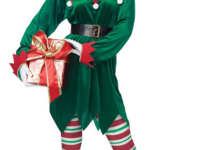 California Costumes Christmas Elf Adult
