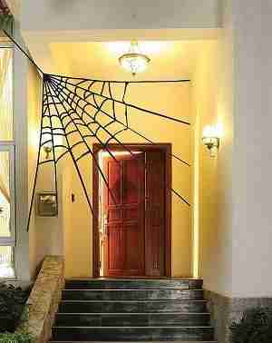 Corner Spider Web