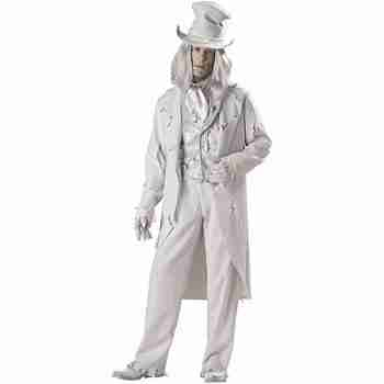 Ghostly Gent Adult Halloween Costume