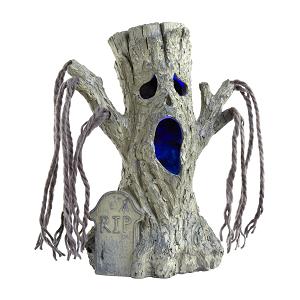 halloween led haunted graveyard tree decoration 1025inch tabletop