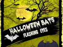 Halloween Hanging Bats With Flashing Eyes