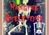 Hanging Skeletons For Halloween
