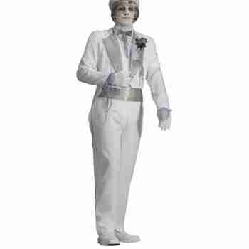 Mens Deluxe Ghostly Spirits Victorian Ghost Groom Costume