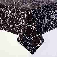 Halloween Table Cloth 100 cotton table cloth english style plaid print multifunctional tablecloths coffee tea table cover high quality zb 20 Spider Web Print Table Cloth Black And White Halloween Party Linens 60 In Round