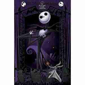 The Nightmare Before Christmas - Movie Poster Print (It's Jack)