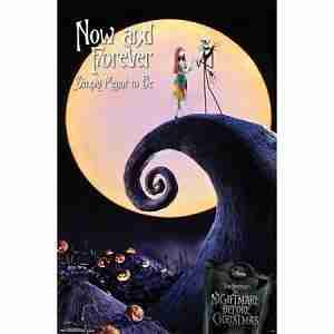 The Nightmare Before Christmas Now and Forever Wall Poster