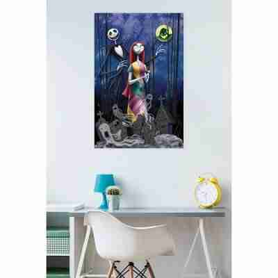 The Nightmare Before Christmas Romance Wall Poster