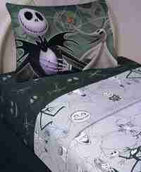 The Nightmare Before Christmas Sheet Set Full Size ~ 4 Pcs-min