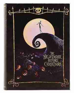 The Nightmare Before Christmas Storage Book Box