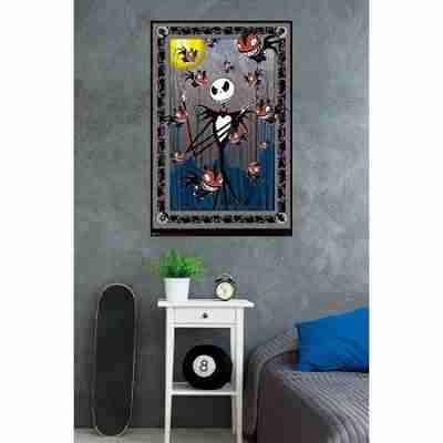 The Nightmare Before Christmas Tarot Wall Poster