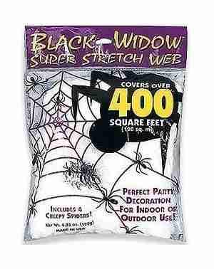 White Superstretch Spiderweb