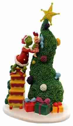 Department 56 Accessory It Takes Two Grinch and Cindy Lou Resin Dr Seuss 4038647