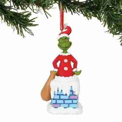Department 56 Dr. Seuss Into The Chimney Musical Ornament