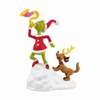 Department 56 Grinch Village Grinch Max A Toot