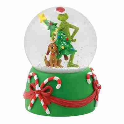 Department 56 The Grinch 6000440 Stealing Tree Musical Globe