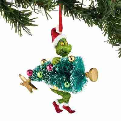 Dept 56 Grinch Stealing Tree Ornament