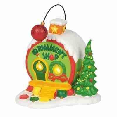 Dept 56 Grinch Village 4059421 Who-Ville Ornament Shop