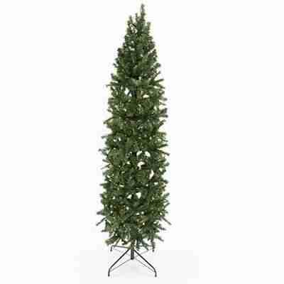 Eco Friendly 7 ft Slim Pencil Unlit Christmas Tree