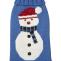 Fab Dog Holiday Snowman Knit Turtleneck Dog Sweater