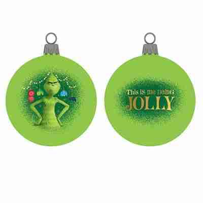 Grinch Shatterproof Ball Ornament