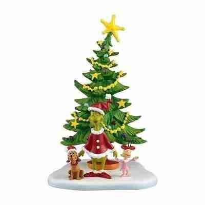 Grinch Villages Welcome Xmas Day Village Accessory, 5.625-Inch