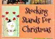 Metal Christmas Stocking Holder