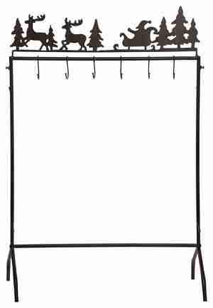 Metal Stocking Holder Stand