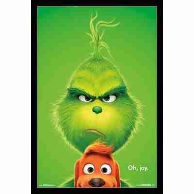 The Grinch - Key Art Poster Print