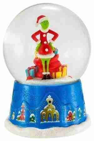 The Grinch Musical Water Globe