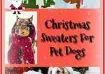 Ugly Christmas Sweaters For Pet Dogs