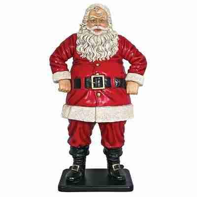 Jolly Santa Claus Life-Size Statues