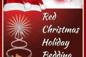 Red Christmas Holiday Bedding Ideas