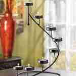 Metal Spiral Table Top Party Centerpiece Candle Holder