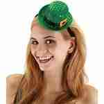 Mini Leprechaun Sequin Hat
